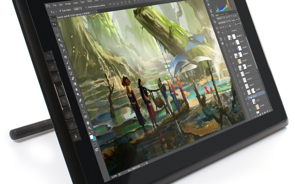 Best Drawing Tablet for Creative Professionals in 2018