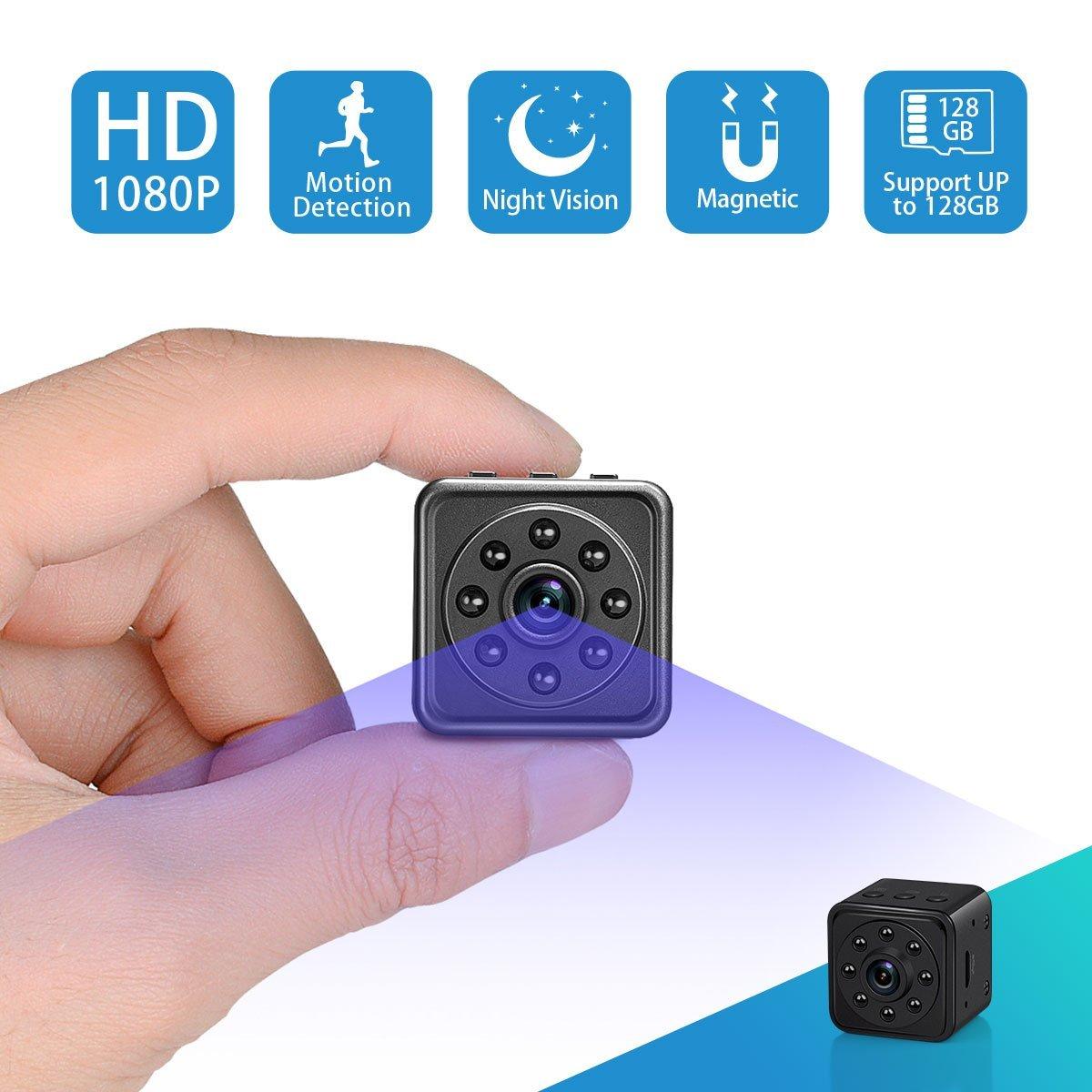 Top 5 Wireless Mini Spy Cameras in 2018